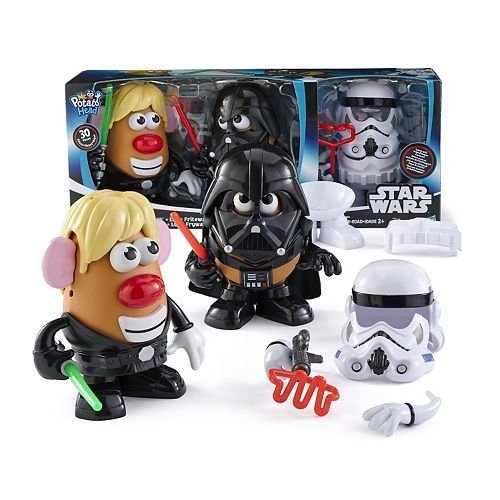 Disney-Star-Wars-Mr-Potato-Head-30-Piece-Set-Luke-Frywalker-Darth-Tater-Spudtrooper-Costume