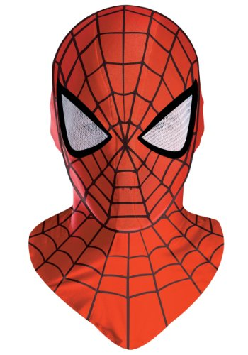 Disguise Mens Superhero Spider-Man Deluxe Mask Halloween Costume Accessories