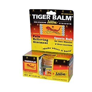 Tiger Balm Tiger Balm Ultra Strength (Pack of 6) 18 gm