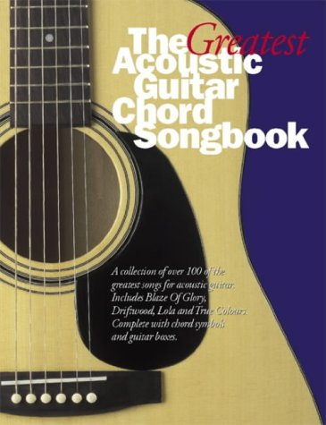Great Acoustic Guitar Chord Songbook: Bk.2