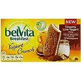 Belvita Breakfast Biscuits Crunch Cocoa and Live Yogurt (Pack of 40)