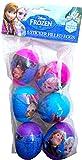 Disney Frozen Easter 6 Sticker Filled Eggs, Perfect for Easter Egg Hunts , Ultimate Easter Fun