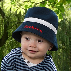 Personalized Baby Boy Bucket Hat front-1014325