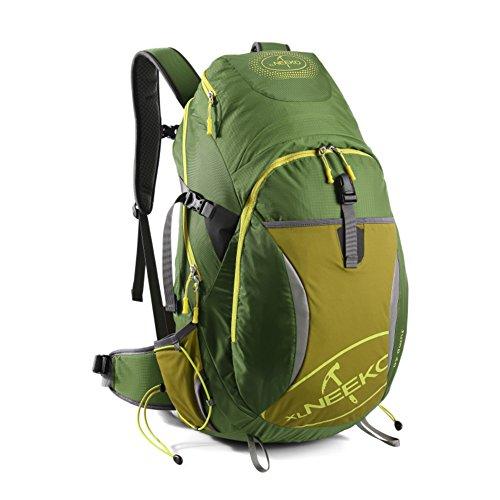 Alpinisme sac / grande capacité / sac de randonnée imperméable à l'eau en plein air sac à dos Voyage-Army Green 40L