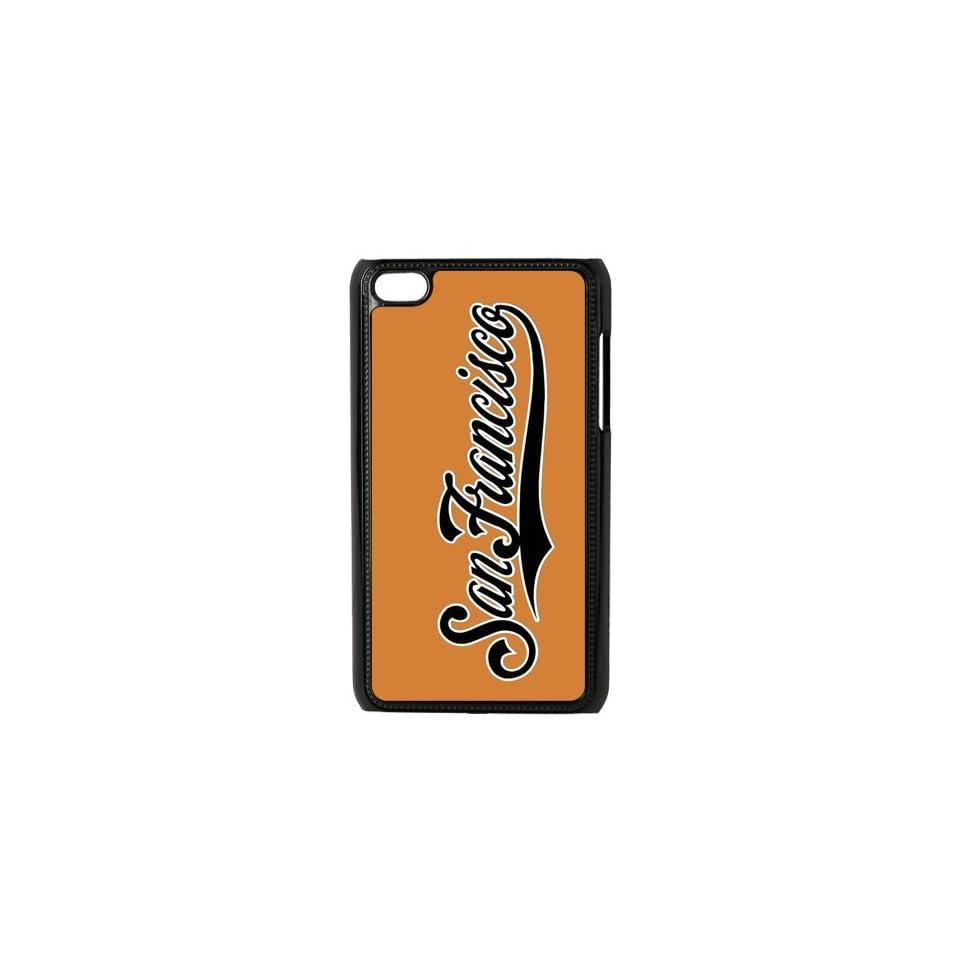 MLB San Francisco Giants Team Logo Unique Durable Hard Plastic Case Cover for Apple iPod Touch 4 Custom Design UniqueDIY Cell Phones & Accessories
