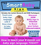 51DQVMxhBiL. SL160  THE SMART BABY SIGN LANGUAGE BOOK. How To Teach Your 6 Month Old Baby Sign Language TODAY!. Reviews