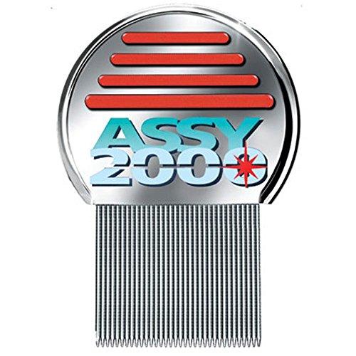 ASSY 2000 - Pettine Assy Antipediculosi: Finalmente liberi da Pidocchi e Lendini - Pettine di Acciaio Anti Pidocchi