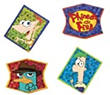 *FREE STANDARD SHIPPING - 24 Rings - Disney's Phineas & Ferb - Official Crispie Sweets Cupcake Topper KIT - w/ Dusting Sugar Sampler & Bonus Card - We Ship Within 1 Business Day w/ *FREE Standard Shipping!