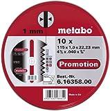 Metabo 6.16358.00 Inox Trennscheiben 115x 1,0, 10 Stück in Blechdose