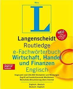 Langenscheidt e-Fachwörterbuch Wirtschaft, Handel und Finanzen Englisch [Download]