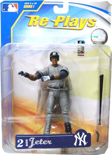 DEREK JETER YANKEES ACTION FIGURE RE PLAYS SERIES 1 - 1