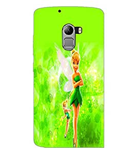 PrintDhaba Cute Doll D-2111 Back Case Cover for LENOVO VIBE K4 NOTE (Multi-Coloured)