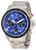Vestal Unisex ZR2011 ZR-2 Silver Navy Chronograph Watch