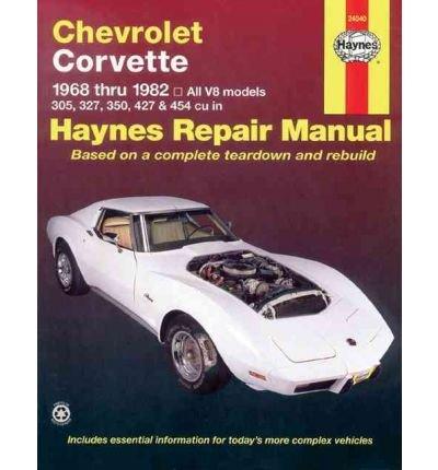 -chevrolet-corvette-1968-1982-haynes-repair-manual-hardcover-byahlstrand-alan-harold-authorpaperback