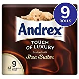 Andrex Touch of Luxury Shea Butter Toilet Tissue 9 per pack