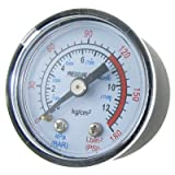 Plastic Round Dial 0-180 PSI Air Compression Compressor Gauge