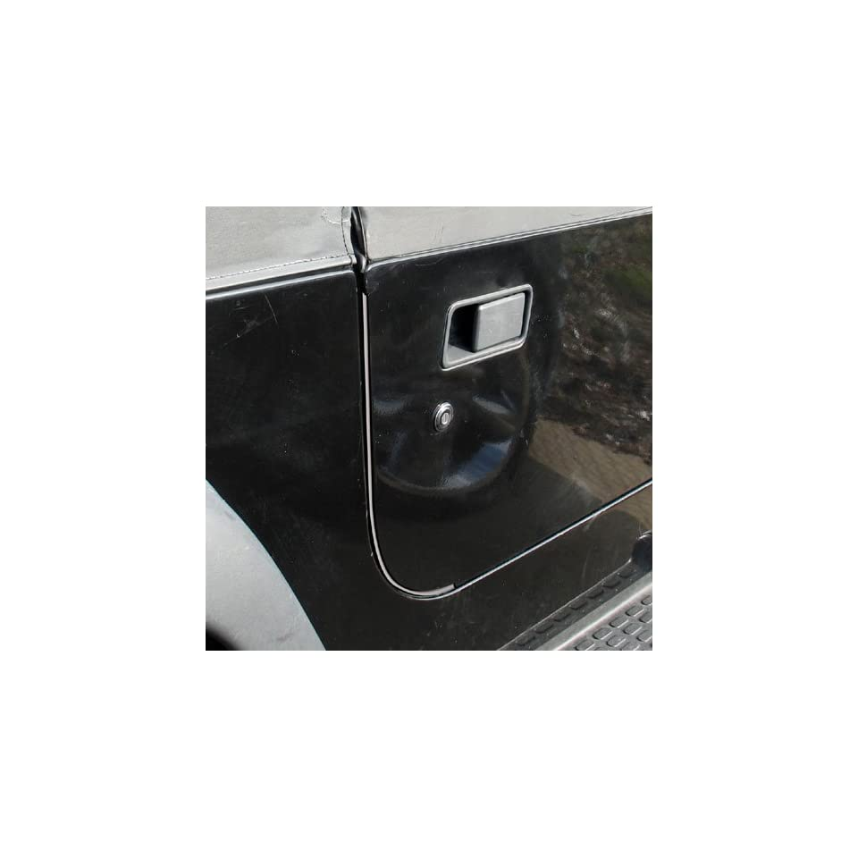 Adell 34000454 Jeep Wrangler Door Edge Guards   YJ / TJ   In Matte Black