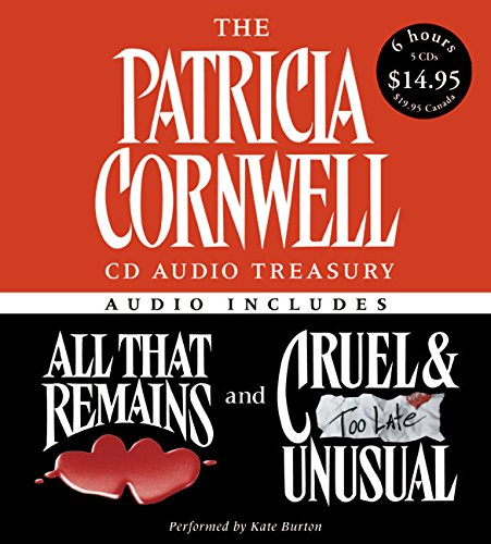 The Patricia Cornwell CD Audio Treasury Low Price Contains a