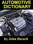 Automotive Dictionary (English Edition)