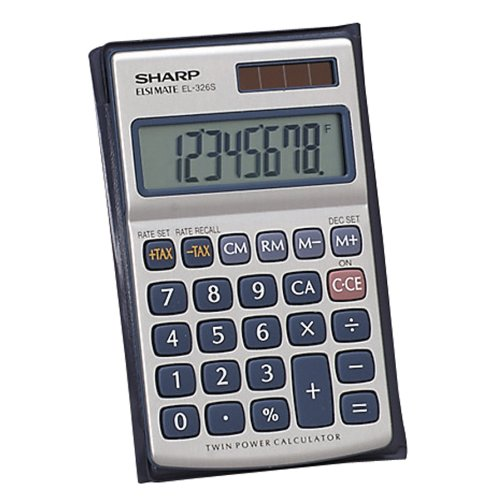 Sharp HO EL326SB Standard Function CalculatorB00006B8GV