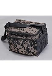 ACU Print Digital Camouflage Deluxe Insulated 6 Packs Cooler Lunch Bag