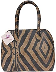 Fashion Knockout Geometric Print Handbag