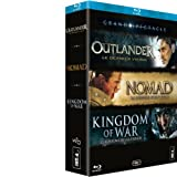 Image de Coffret grand spectacle : Kingdom of war ; Nomad ; Outlander [Blu-ray]