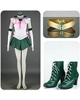 (ProCosplay) Sailor Moon Sailor Jupiter Kino Makoto Costumes Set For Cosplay