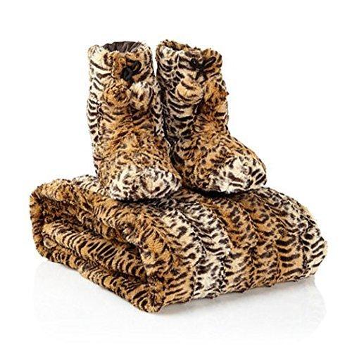 adrienne-landau-faux-fur-throw-and-booties-leopard-medium-by-adrienne-landau