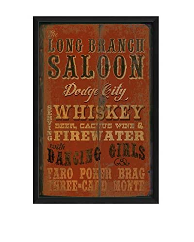 The Artwork Factory Long Branch Saloon Framed Art