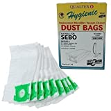 5 Layer Microfibre Dust Bags Compatible with Sebo K1 K2 K3 Vacuum Cleaners 10PK