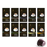 Gourmesso Testbox - 100 Nespresso kompatible Kaffeekapseln