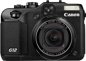 Canon Powershot G12 Appareil photo compact numérique 10Mpix Ecran LCD 2,8'' Zoom optique 5x Noir
