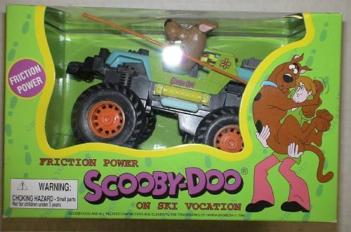Friction Powered Scooby Doo on Ski Vacation Vehicle - 1