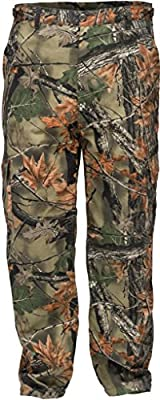 Trail Crest Men's Camo 6 Pocket Cargo Hunting Pants W/ Can Cooler