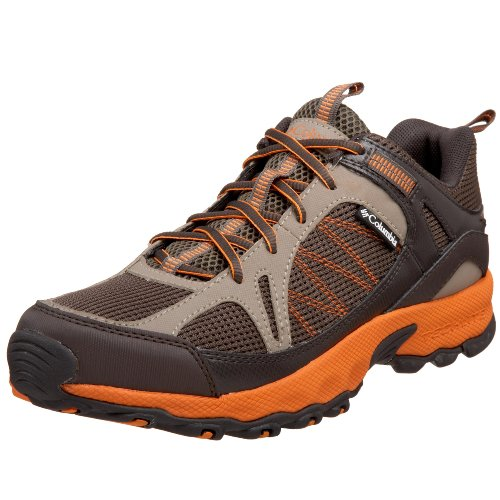 Columbia Men's BM3558 Switchback Hiking Shoe,Mud/Valencia,15 M