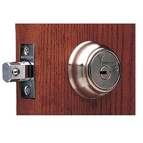 Multlock Hercular Double Cylinder Deadbolt W/Decorative Rosette - Satin Nickle