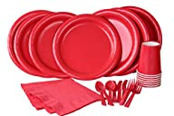 Red Party Set! Includes Red Dinner Pl…