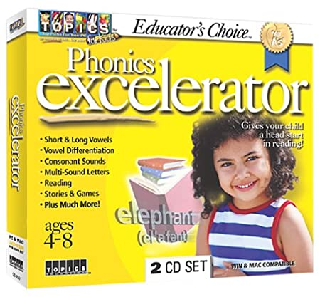 Educator's Choice Phonics Excelerator (Jewel Case)