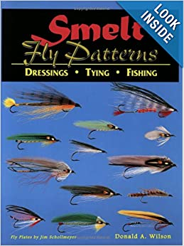 Smelt fly patterns dressings tying fishing donald a for Best fishing books