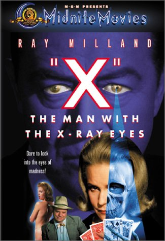 The Man With The X-Ray Eyes Cover