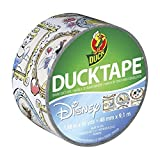 Duck Brand 283004 Disney-Licensed Princess Printed Duct Tape, 1.88 Inches x 10 Yards, Single Roll by Duck Brand