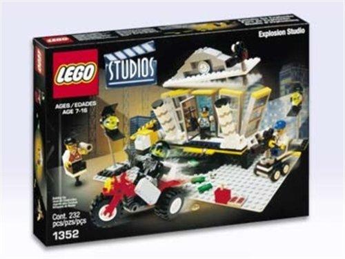 LEGO 1352 - Banküberfall mit Explosion, 232 Teile