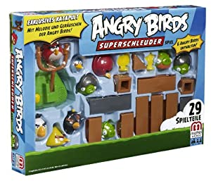 mattel x9272 angry birds superschleuder kinderspiel zur app spielzeug. Black Bedroom Furniture Sets. Home Design Ideas