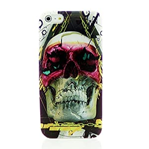 Cool Punk Back Cover Case for iPhone 5 5S with Free LCD Film Cool Z hero in a mask Skull by INASK