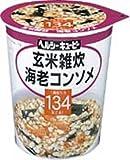 ヘルシーキューピー 玄米雑炊 海老コンソメ 134kcal (6入り)