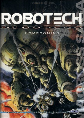 Robotech Macross Saga: Homecoming [DVD] [Region 1] [US Import] [NTSC]