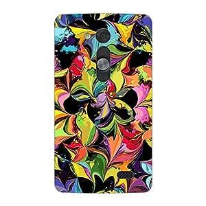 Garmor Designer Silicone Back Cover For LG L Fino