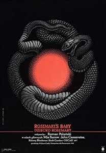 Rosemary's Baby Poster Movie Polish 11x17 Mia Farrow John Cassavetes Ruth Gordon Sidney Blackmer
