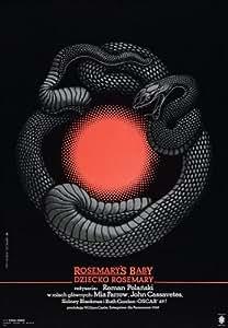 Rosemary's Baby Poster Movie Polish 11x17 Mia Farrow John Cassavetes Ruth Gordon Sidney Blackmer